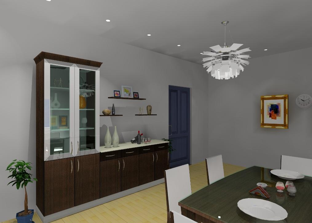 3d renderings for Bedroom unit designs